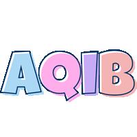 Aqib pastel logo