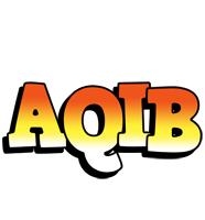 Aqib sunset logo