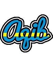 Aqib sweden logo