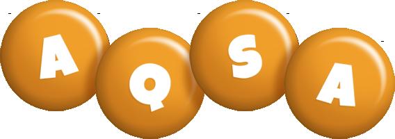 Aqsa candy-orange logo