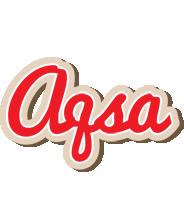Aqsa chocolate logo