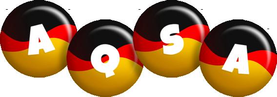 Aqsa german logo