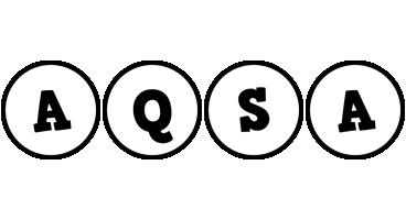 Aqsa handy logo