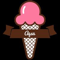 Aqsa premium logo