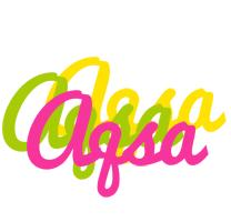 Aqsa sweets logo