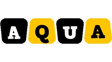 Aqua boots logo