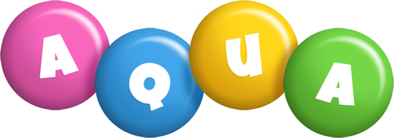 Aqua candy logo