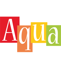 Aqua colors logo