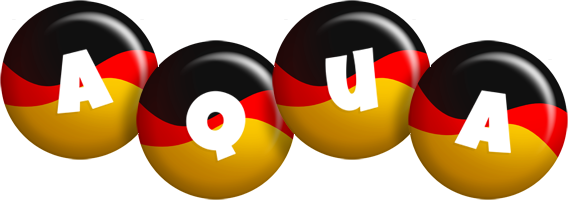 Aqua german logo