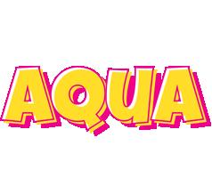 Aqua kaboom logo
