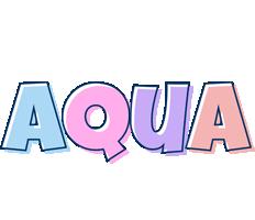 Aqua pastel logo