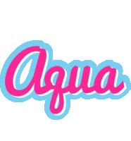 Aqua popstar logo