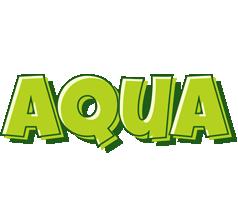 Aqua summer logo