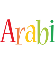 Arabi birthday logo