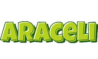 Araceli summer logo