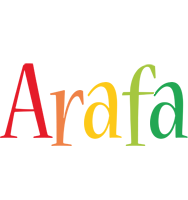 Arafa birthday logo