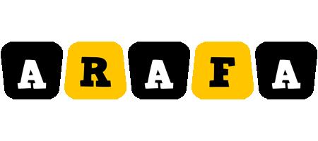 Arafa boots logo