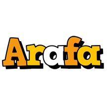 Arafa cartoon logo