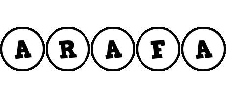 Arafa handy logo