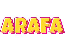 Arafa kaboom logo