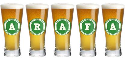 Arafa lager logo