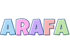 Arafa pastel logo