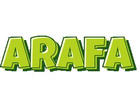 Arafa summer logo