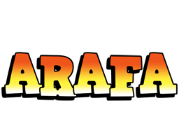 Arafa sunset logo