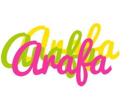 Arafa sweets logo