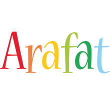 Arafat birthday logo