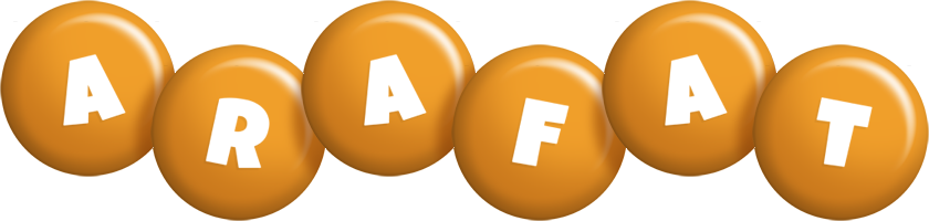 Arafat candy-orange logo