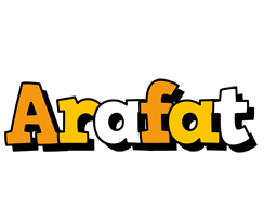 Arafat cartoon logo