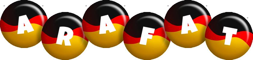 Arafat german logo