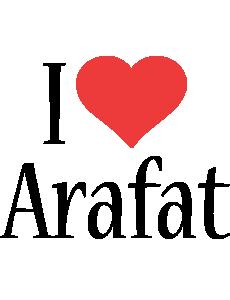 Arafat i-love logo