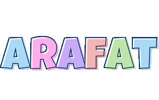 Arafat pastel logo
