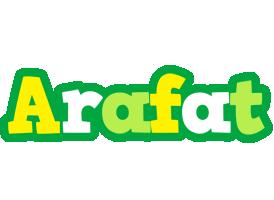 Arafat soccer logo