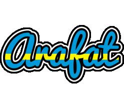 Arafat sweden logo
