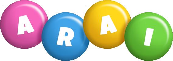 Arai candy logo