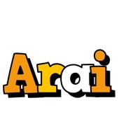 Arai cartoon logo