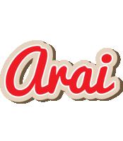 Arai chocolate logo