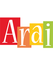 Arai colors logo