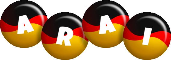 Arai german logo