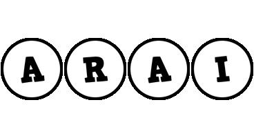Arai handy logo