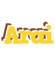 Arai hotcup logo