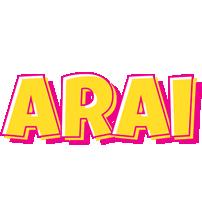 Arai kaboom logo