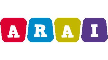 Arai kiddo logo