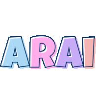 Arai pastel logo