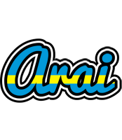 Arai sweden logo