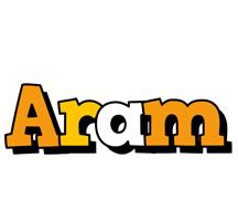Aram cartoon logo