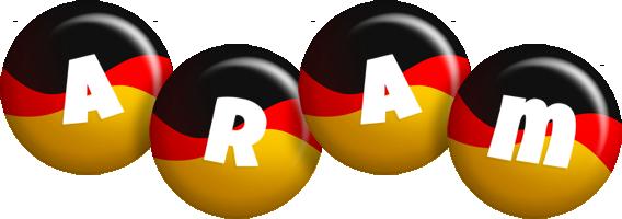 Aram german logo